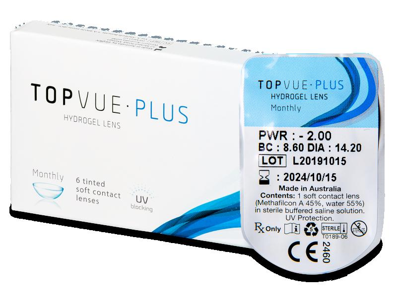 TopVue Plus (1lente) - Lenti a contatto mensili