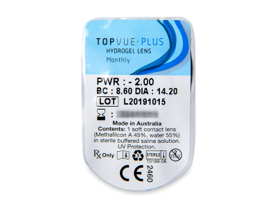 TopVue Plus (1lente) - Blister della lente