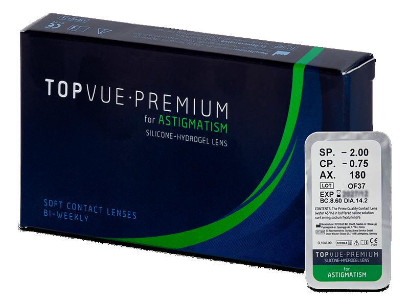 TopVue Premium for Astigmatism (1 lente) - Lenti a contatto toriche