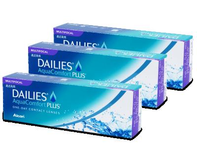Dailies AquaComfort Plus Multifocal (90lenti) - Lenti a contatto multifocali