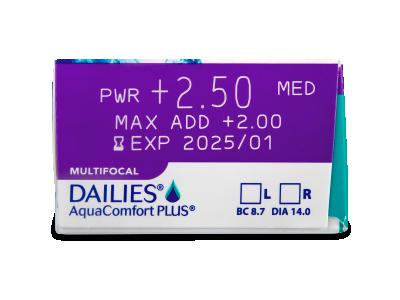 Dailies AquaComfort Plus Multifocal (90lenti) - Caratteristiche generali