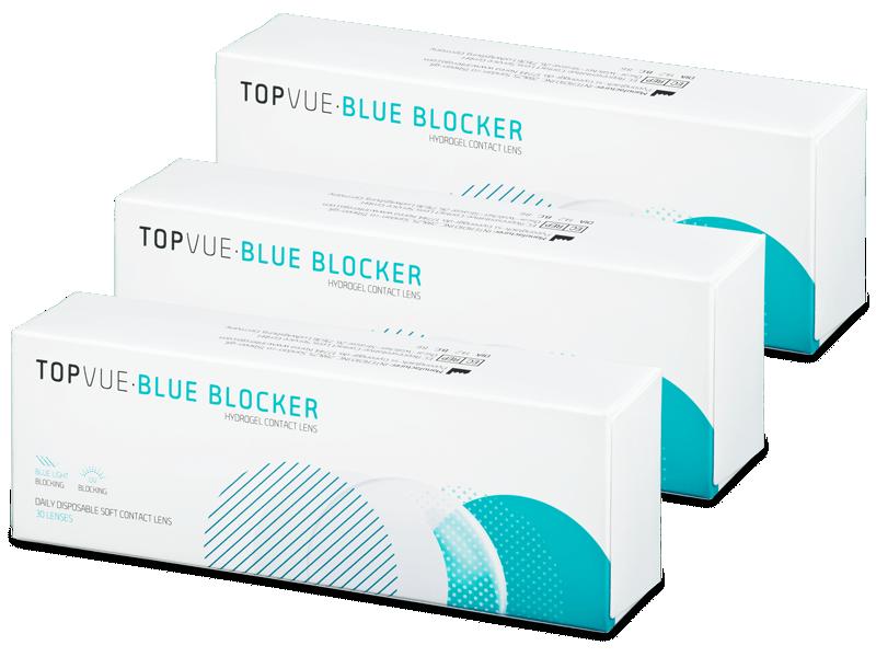TopVue Blue Blocker (90 lenti) - Lenti a contatto giornaliere