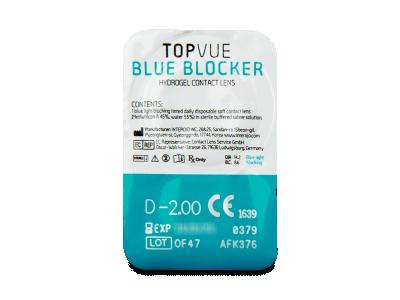 TopVue Blue Blocker (90 lenti) - Blister della lente