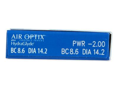 Air Optix plus HydraGlyde (6 lenti) - Caratteristiche generali