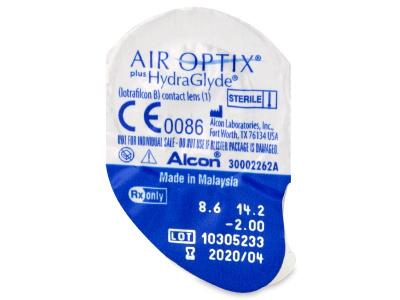 Air Optix plus HydraGlyde (3 lenti) - Blister della lente