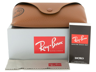 Ray-Ban New Wayfarer RB2132 - 894/76  - Preview pack (illustration photo)
