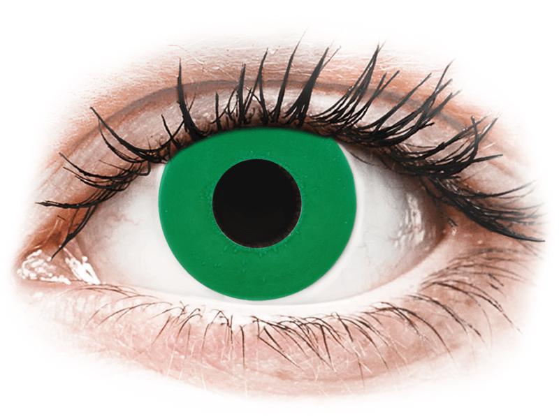 CRAZY LENS - Emerald Green - giornaliere non correttive (2 lenti) - Lenti a contatto colorate
