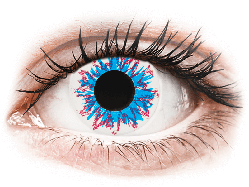CRAZY LENS - Harlequin - giornaliere non correttive (2 lenti) - Lenti a contatto colorate