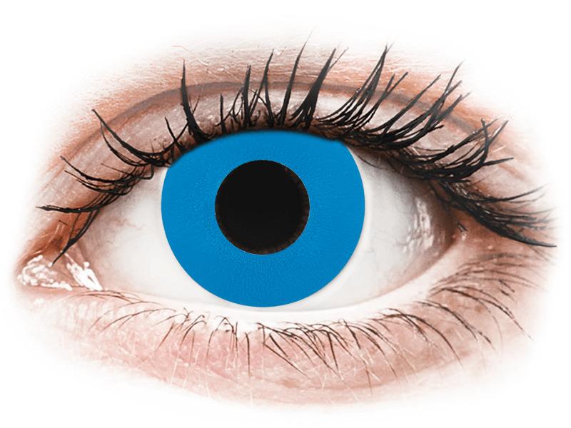 CRAZY LENS - Sky Blue - giornaliere non correttive (2 lenti) - Lenti a contatto colorate