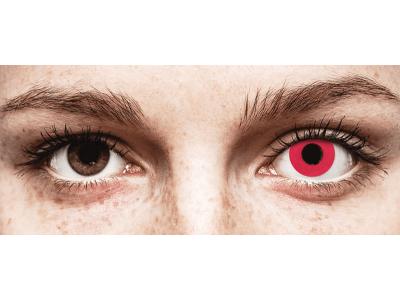 CRAZY LENS - Solid Red - giornaliere non correttive (2 lenti)