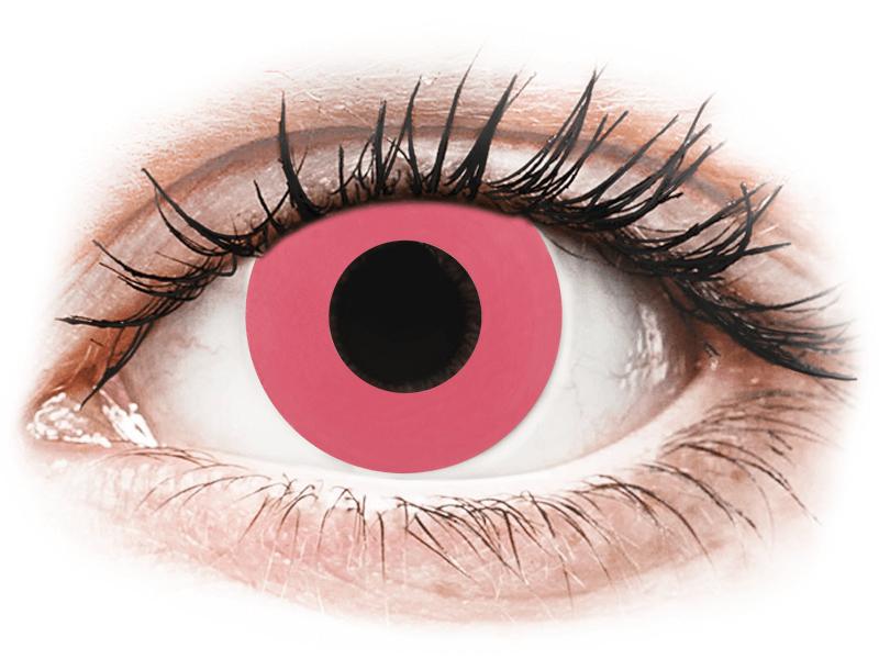 CRAZY LENS - Solid Rose - giornaliere non correttive (2 lenti) - Lenti a contatto colorate