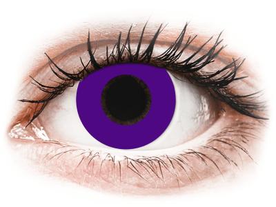 CRAZY LENS - Solid Violet - giornaliere non correttive (2 lenti)