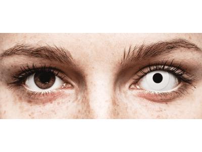 CRAZY LENS - WhiteOut - giornaliere non correttive (2 lenti)