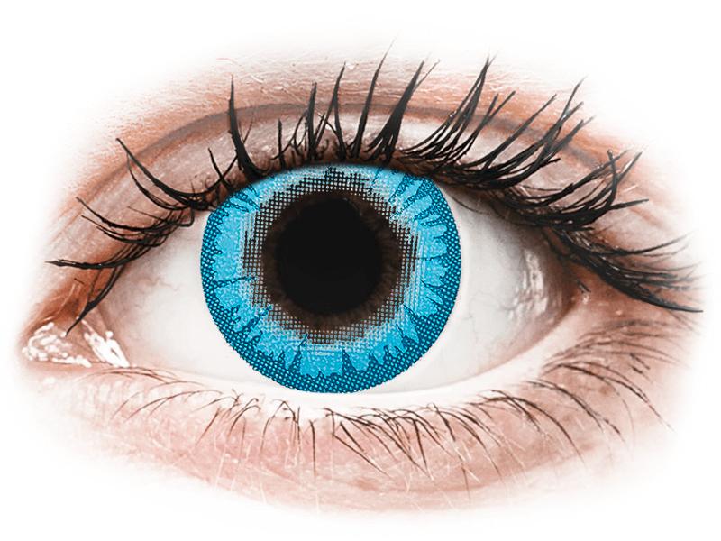CRAZY LENS - White Walker - giornaliere non correttive (2 lenti) - Lenti a contatto colorate