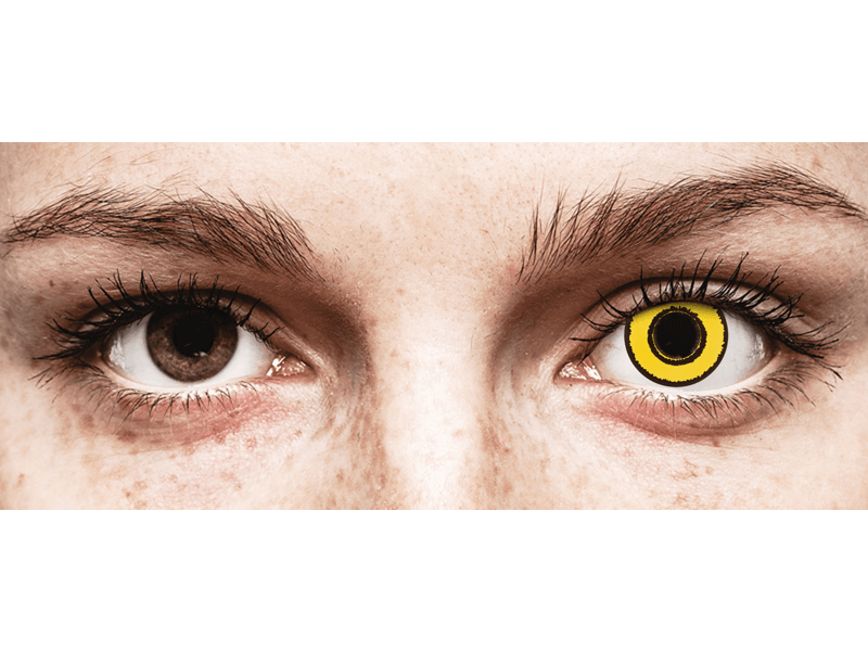 CRAZY LENS - Yellow Twilight - giornaliere non correttive (2 lenti)