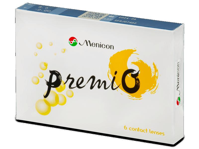 Menicon PremiO (6 lenti) - Lenti a contatto quindicinali