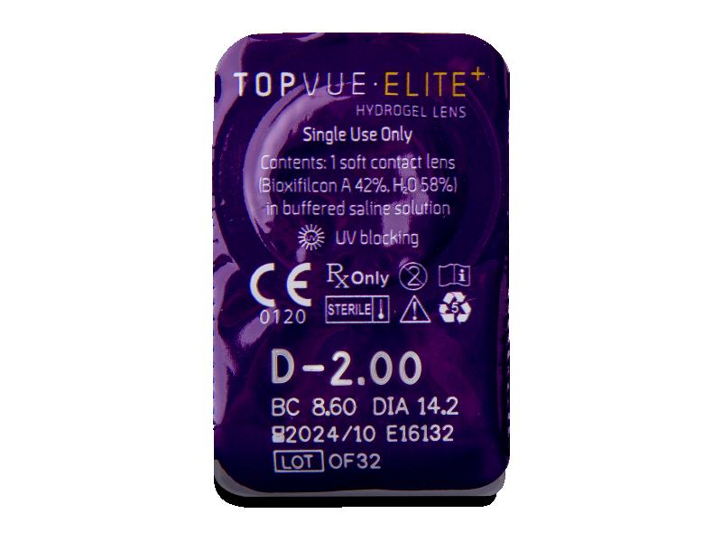 TopVue Elite+ (90 lenti) - Blister della lente
