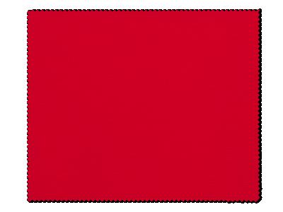 Panno per pulizia occhiali - rosso