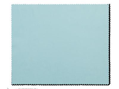 Panno per pulizia occhiali - blu chiaro