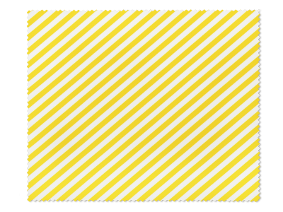 Panno per pulizia occhiali - a strisce bianche e gialle