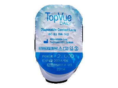 TopVue Daily (90 lenti) - Blister della lente