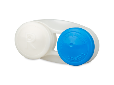 Astuccio porta lenti - blu antibatterico