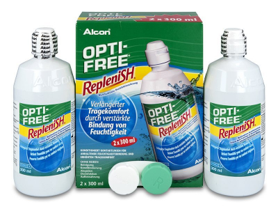 Soluzione OPTI-FREE RepleniSH 2x300ml  - Precedente e nuovo design