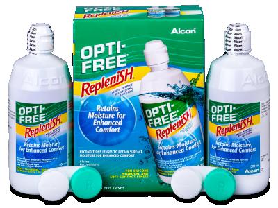 Soluzione OPTI-FREE RepleniSH 2x300ml  - Economy duo pack- solution