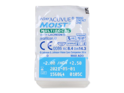 1 Day Acuvue Moist Multifocal (30 lenti) - Blister pack preview