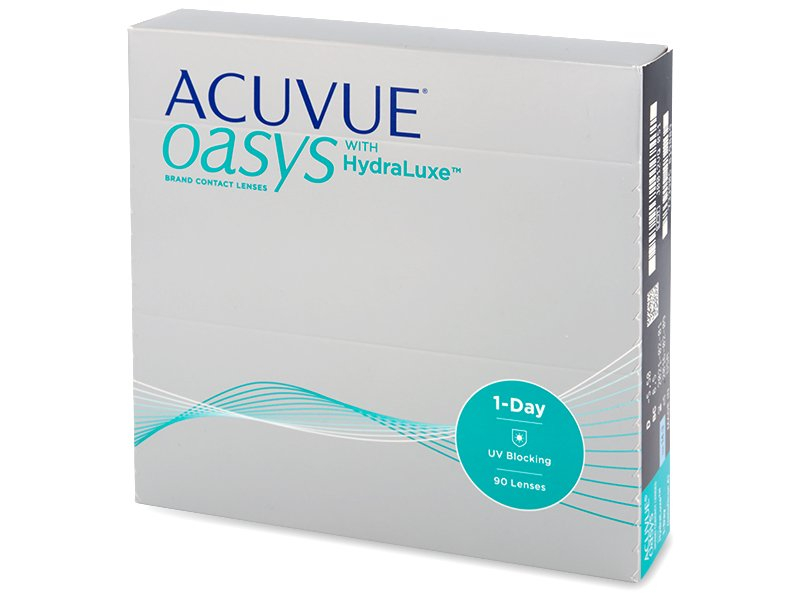 Acuvue Oasys 1-Day with Hydraluxe (90 lenti)