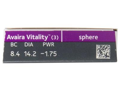 Avaira Vitality (3 lenti) - Caratteristiche generali