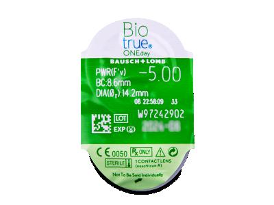 Biotrue ONEday (90lenti) - Blister della lente