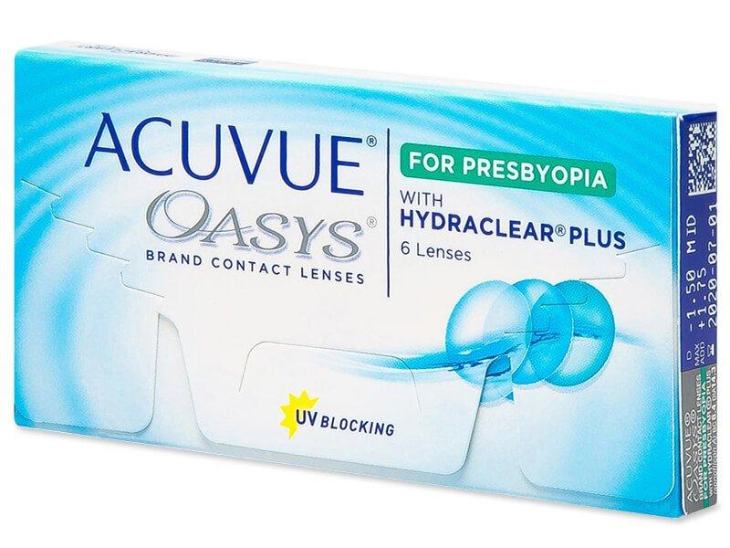 Acuvue Oasys for Presbyopia (6 lenti) - Lenti a contatto multifocali
