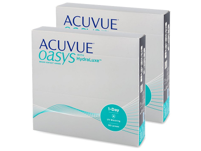 Acuvue Oasys 1-Day with Hydraluxe (180 lenti)