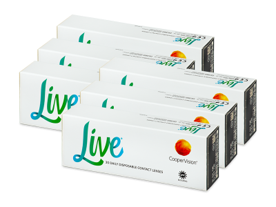 Live Daily Disposable (180 lenti)