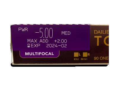 Dailies TOTAL1 Multifocal (90 lenti) - Caratteristiche generali