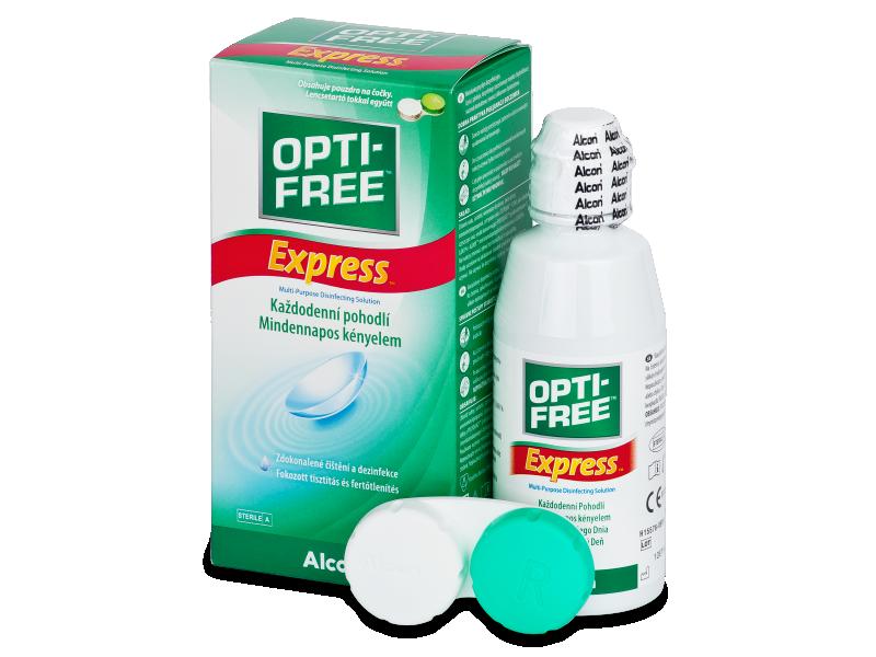 Soluzione OPTI-FREE Express 120 ml  - Soluzione unica