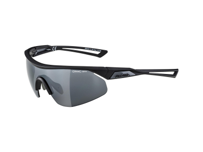 Alpina Nylos Shield Black Matt/Black Mirror
