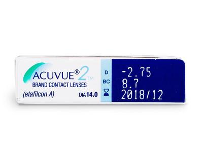Acuvue 2 (6lenti) - Caratteristiche generali