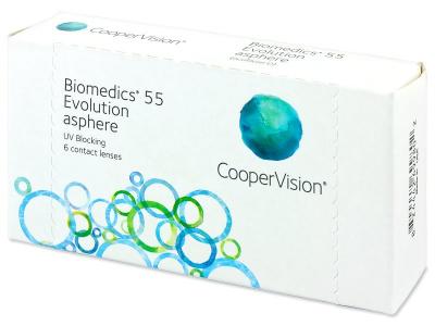 Biomedics 55 Evolution (6lenti)