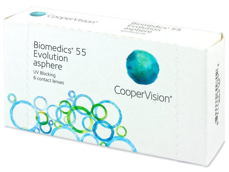Biomedics 55 Evolution (6lenti) - Lenti a contatto mensili