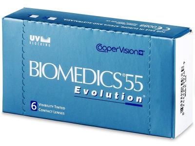 Biomedics 55 Evolution (6lenti) - Precedente e nuovo design