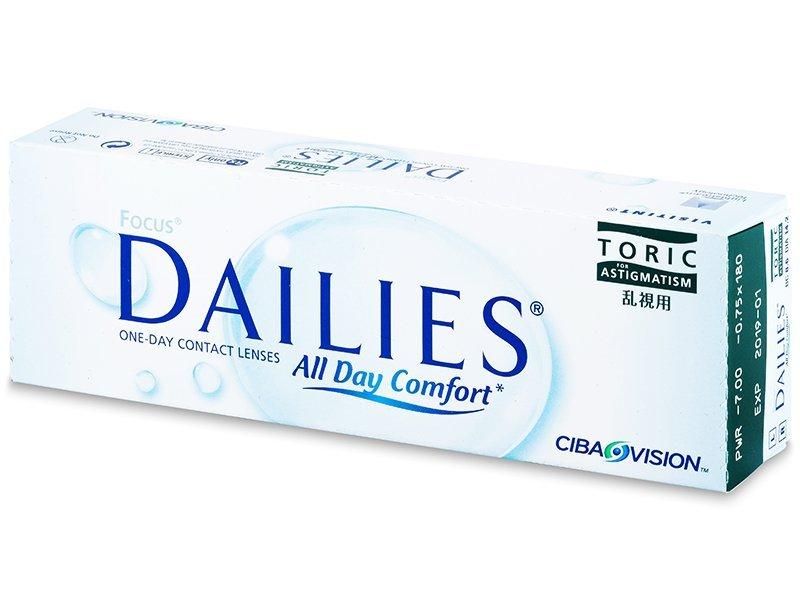 Focus Dailies Toric (30lenti) - Lenti a contatto toriche