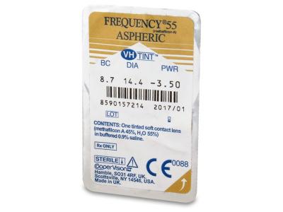 Frequency 55 Aspheric (6lenti) - Blister della lente
