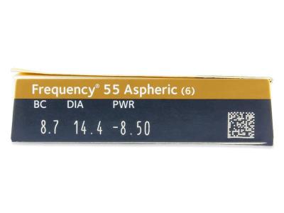Frequency 55 Aspheric (6lenti) - Caratteristiche generali