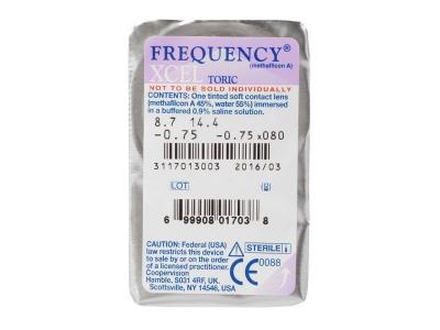 FREQUENCY XCEL TORIC (3lenti) - Blister della lente