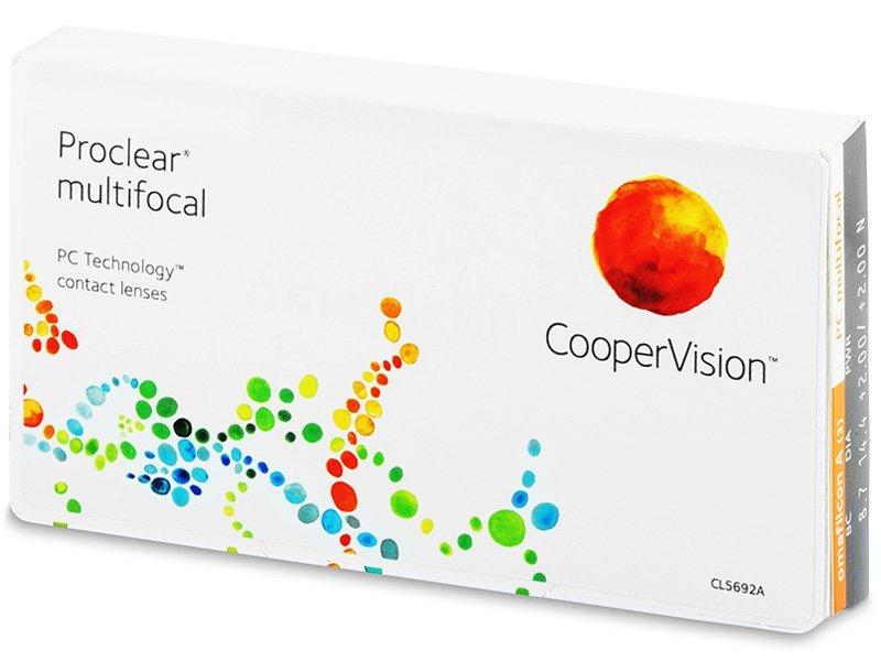 Proclear Multifocal (3lenti) - Lenti a contatto multifocali