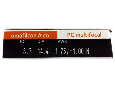 Proclear Multifocal (3lenti) - Caratteristiche generali