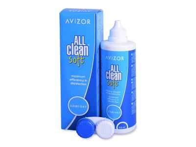 Soluzione Avizor All Clean Soft 350 ml  - Soluzione unica