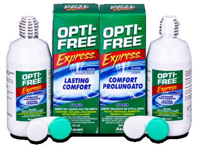 Soluzione OPTI-FREE Express 2x355ml  - Precedente e nuovo design